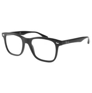 Ray Ban RX RX5248-2000 51MM Highstreet Framed Prescription Eye Glass Shiny Black