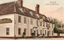Three Tuns Hotel Pub Yoxford  Saxmundham 1907  D65 error Duplex postmark Wrench