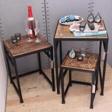 Mesas menos de 60cm de hierro para el hogar