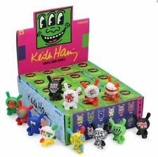 """Kidrobot Keith Haring 3"""" Dunny Vinyl Figure Sealed Case of 20 Blind Boxes"""