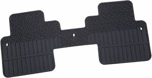 2009-2012 Chevy Traverse Second Row Floor Mat - Genuine GM - Rubber 22890447