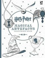 Harry Potter Magical Artefacts Colouring Book 4 - Paperback New 9781783705924