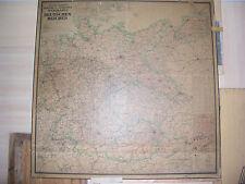 Kontor u. Verkehrskarte des Deutschen Reiches vMärz1939 8A. 175Platte175 Germany
