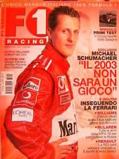 F1 Racing 47 2003 McLaren tutte le armi della Mp4-18. Foto dell'anno 2002  Sc.47