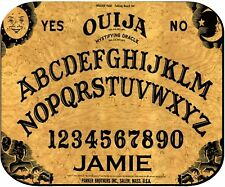 PERSONALIZED MOUSE PAD OUIJA BOARD COMPUTER PC RUBBER BACKED