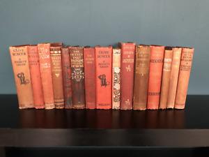 Vintage Books For Decoration Interior Design Display Linear Half Metre 50cm Red
