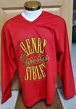 Henry Sibley Warriors High School Minnesota Hockey Pedersons Jersey Large