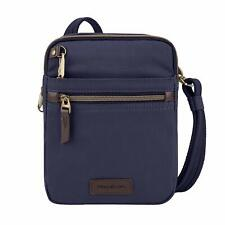 Travelon Anti-Theft Courier Small Slim Travel Bag # NAVY