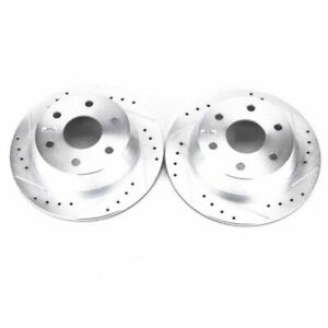 Power Stop 03-05 for Chevrolet Astro Rear Evolution Drilled & Slotted Rotors -