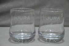 Pair Of (2) Jura Whisky Glass Tumbler Glass Brand New In Box Christmas New RARE