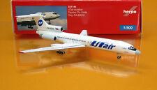 Herpa Wings 531146 UTair Tupolev TU 154M Reg RA 85018 Scale 1 500 NEU OVP