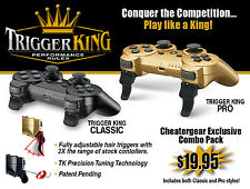 Limited Edition Sony PS3 Trigger Mod Custom Controller Attachment -Rapid Fire