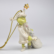 Lenox How the Grinch Stole Christmas Grinchy Ornament