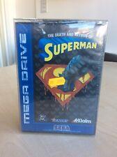 The Death And Return Of Superman Sega Megadrive Brand New Sealed
