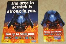 NEW MINT posters Star Wars advertising Australian Lottery scratch cards 2005