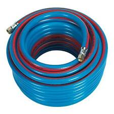 "Sealey Air Compressor Hose/Line 20mtr x 8mm, 1/4""BSP Extra Heavy-Duty - AH20R"