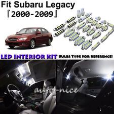 10x White LED Interior Lights Package Kit For 2000- 2007 2008 2009 Subaru Legacy