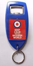 KEEP CALM This Is A Modern World Plastic KeyRing/Bottle Opener Mod target