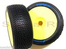 Louise RC 1/8 Viper L-T3194SY Soft (2pcs) w/ Yellow Dish Wheel