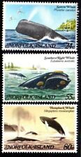 1982 NORFOLK ISLAND WHALES SG284-286 mint unhinged
