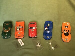 SCALEXTRIC NICE SCRAPYARD SPARES REPAIRS OF ASSORTED RARE CLASSIC VINTAGE CARS