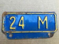 Vintage Kansas License Plate Topper 24M Truck Ford Dodge Chevy International 3