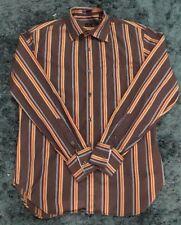 mens paul smith long sleeves stripe shirt size 15 (medium)