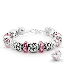 "Lovelinks, Sterling Silver Bracelet, Parrot Clasp Bracelet 20cm 7.9"" TB004_20"
