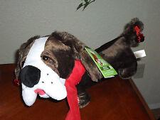 Animated Flapping Ears Christmas Singing Dog