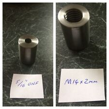 Threaded Adapter Large to Small - Metric to UNF/UNC - Any Mix.