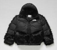 NWT RARE SIZE Nike x Sacai Down Parka Puffer Jacket, Women's XX-Small Black