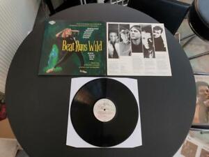 "BEAT RUNS WILD VARIOUS ARTISTS 1986 UK PRESS 12"" VINYL RECORD LP EX/EX"