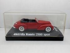 1062 SOLIDO COCHE ALFA ROMEO 2500 SPORT  METAL MODEL CAR MINIATURE 1/43 1:43