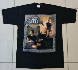 Tomb Raider Lara Croft Medium T-Shirt Blue Grape