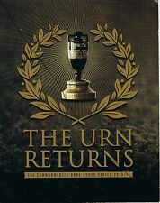 The Urn Returns-Commonwealth Bank Ashes Series 2013/14 POP Presentation Folder