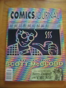 The Comics Journal #179 Scott McCloud Matt Wagner Alison Bechdel Terry Zwigoff