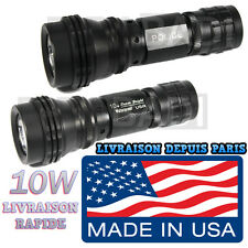 SWAT POLICE 500M LAMPE TORCHE 3500 LUMEN LED 10W FLASHLIGHT • MADE IN U.S.A •