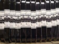 "10 Yard Black 1"" Velvet Ribbon Nylon Fabric Made in Switzerland NEW Washable"