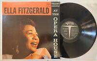 Ella Fitgerald - At The Opera House LP 1958 Verve MG V-8264 Mono 1st CLEAN VG+