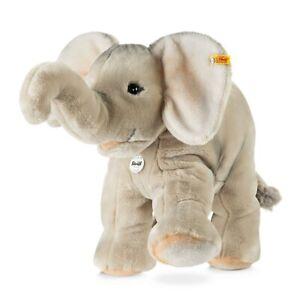 Steiff Trampili Elephant - classic washable plush soft toy - 45cm - 064043