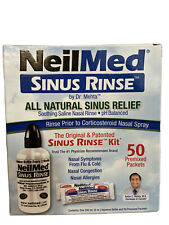 NeilMed Sinus Rinse Complete Kit - 50 Premixed Packets