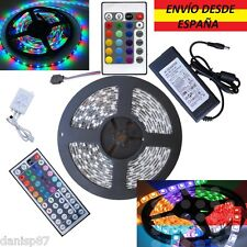 Tiras Led 5050/3528 300Led RGB/Blanco/Colores,Controlador,Transformador