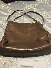 Brown Leather Coach Purse.