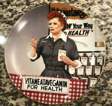 LUCILLE BALL I Love Lucy Vitameatavegamin IT'S JUST LIKE CANDY Hamilton Plate