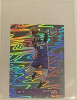 2019-20 Panini NBA Sticker De'Aaron Fox HOLO FOIL Sacramento Kings #452 SP 🔥