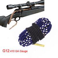 Xhunter Rifle Gun Cleaner Brush Bore Snake 410 GA Gauge 410 G Boresnake Cleaning