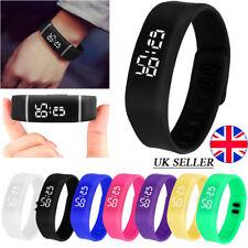 Reloj de pulsera Digital deportivo con LED Reino Unido Niños Niño Niñas Hombres Mujeres Niños Navidad Regalos