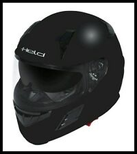 AKTION Held 7295 Helm Motorradhelm Rollerhelm mit Sonnenblende Größe L