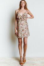 Bailey 44 Women's object of desire faux wrap dress tan size Petite XS $198