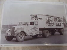 1935 STUDEBAKER TRACTOR TRAILER  OLD SHAY ALE 11 X 17  PHOTO /  PICTURE